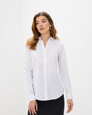 Рубашка с длинным рукавом белая Piazza Italia