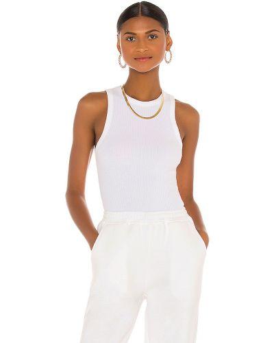 Bawełna biały włókienniczy top Atoir