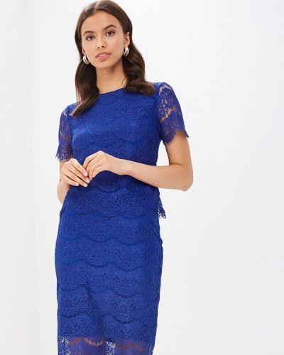 Юбочный костюм синий Vittoria Vicci