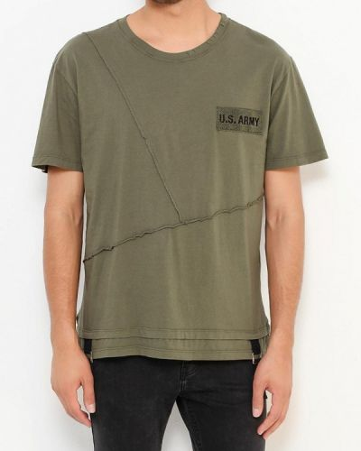 Зеленая футболка J.b4