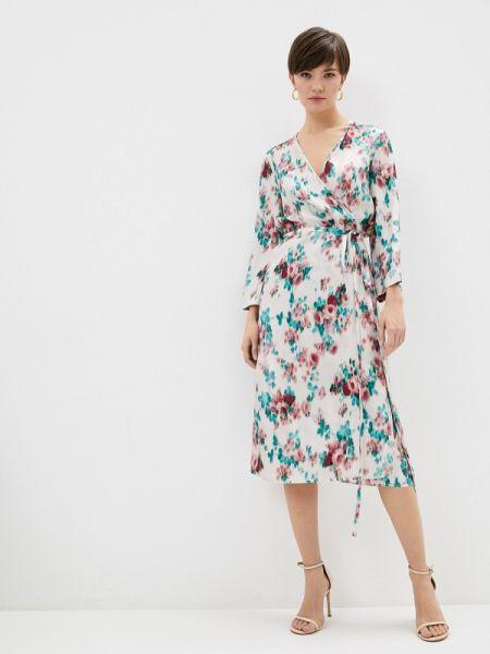 Платье с запахом осеннее Lautre Chose