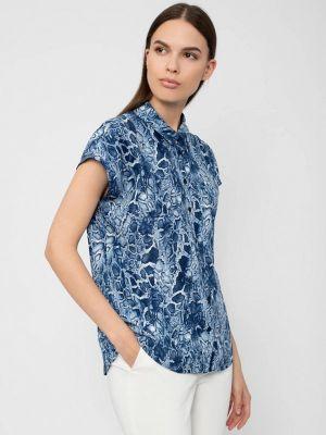 Блузка - синяя Pompa