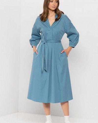 Голубое турецкое платье Gerry Weber