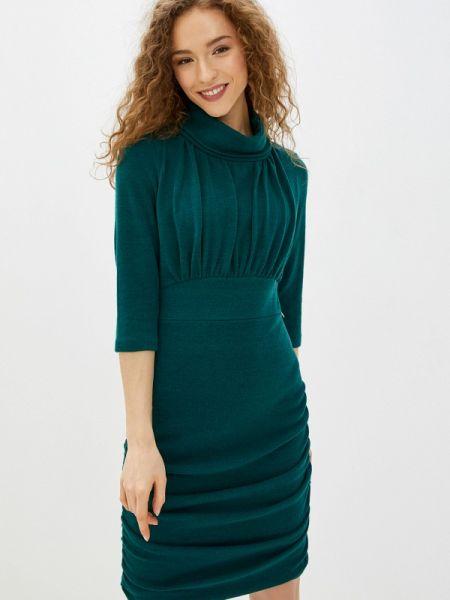 Платье прямое бирюзовый Rinascimento