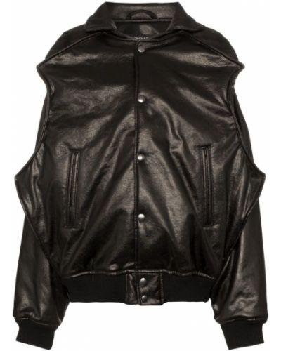 Черная длинная куртка с манжетами Y/project