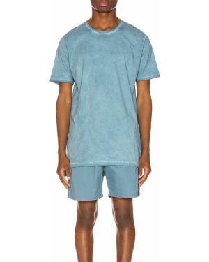 Niebieska koszula jeansowa bawełniana vintage Zanerobe
