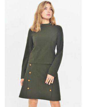 Блузка с длинным рукавом зеленый Mondigo