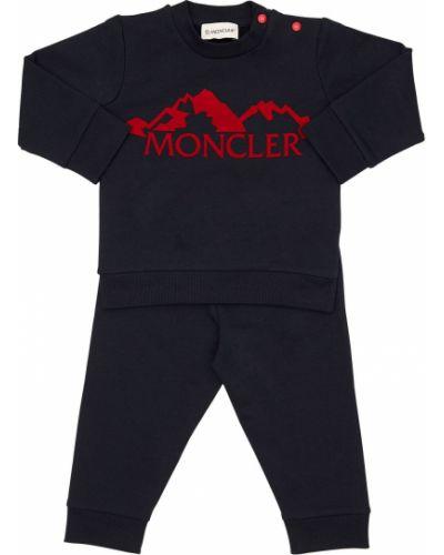 Spodnie z logo Moncler