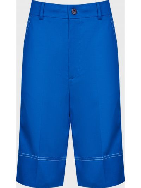 Хлопковые шорты - синие Ice Play