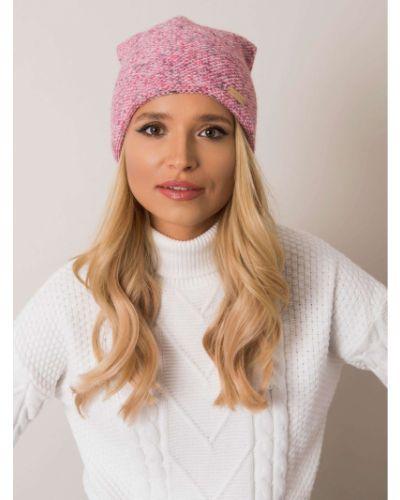 Różowy kapelusz wełniany Fashionhunters