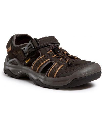 Brązowe sandały na lato Teva
