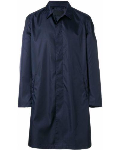 Длинное пальто с карманами легкое Prada