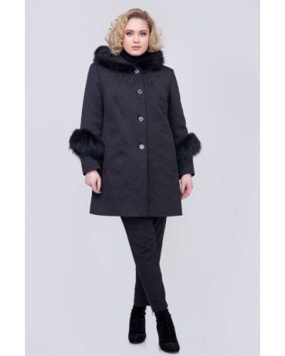 Пальто из овчины для офиса Sergio Cotti