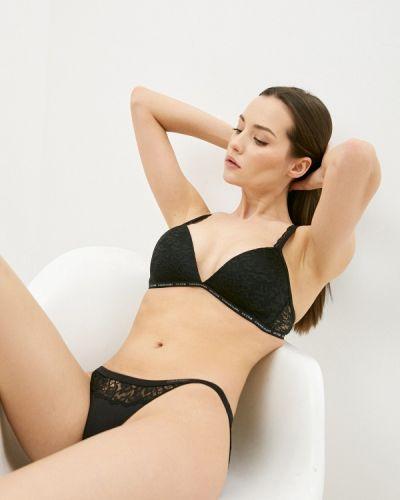 Черный бюстгальтер из плотной ткани Calvin Klein Underwear