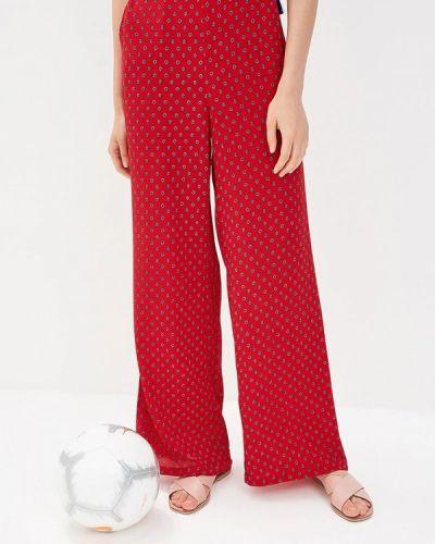 Красные брюки Mango