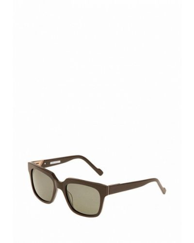 Черные солнцезащитные очки с завязками Enni Marco