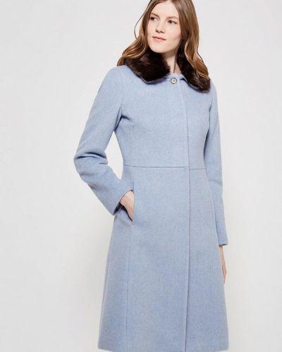 Пальто демисезонное голубое United Colors Of Benetton