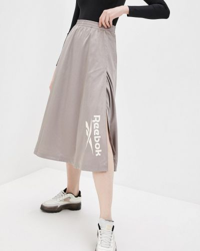 Бежевая юбка Reebok Classic
