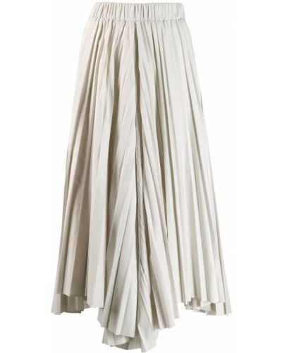 Укороченные брюки с завышенной талией плиссированные Dusan