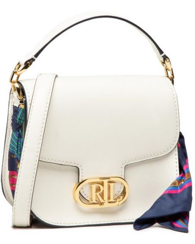 Beżowa torebka crossbody Lauren Ralph Lauren