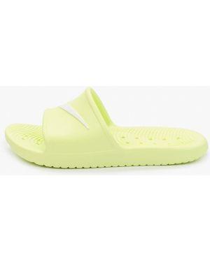 Сланцы желтый Nike