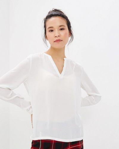 Белая блузка с длинным рукавом Only