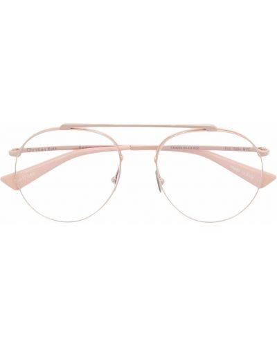 Złote okulary Christian Roth
