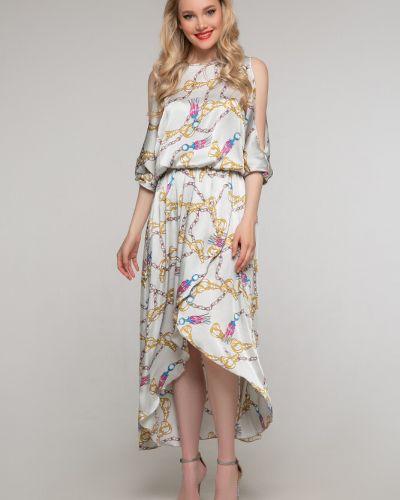 Платье миди на запах Петербургский Швейный Дом