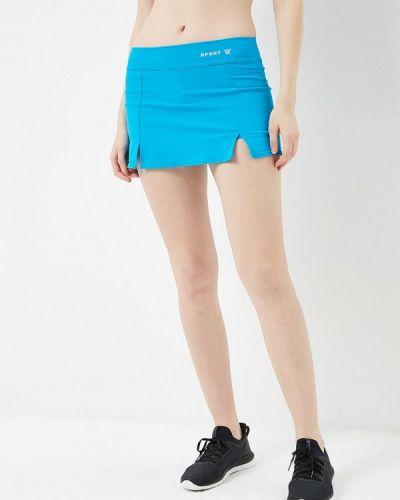 Юбка юбка-шорты синяя Sitlly