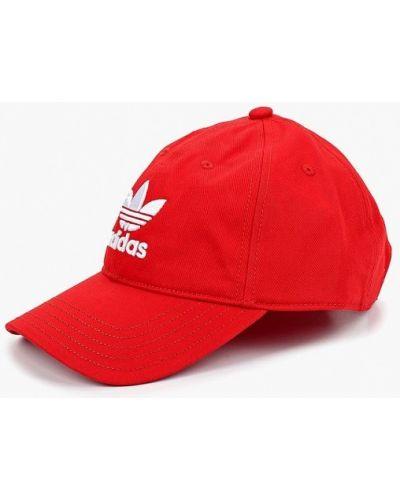 Красная бейсболка Adidas Originals