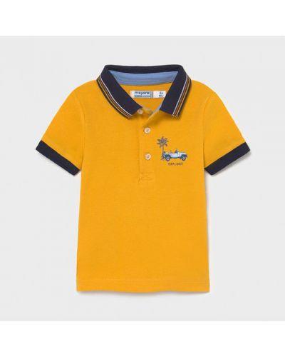 Żółte polo Mayoral