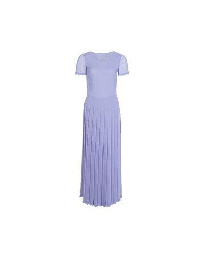Фиолетовое весеннее платье Moschino Love