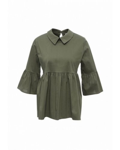 Блузка с длинным рукавом зеленый весенний Piazza Italia
