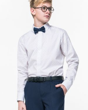 Рубашка приталенная белая Orby