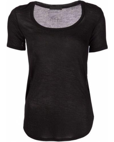 Czarny t-shirt krótki rękaw Atm Anthony Thomas Melillo