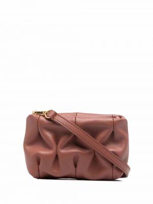 Кожаная сумка через плечо - коричневая Coccinelle
