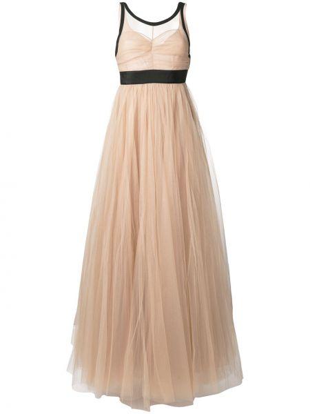 Шелковое черное вечернее платье для полных N°21