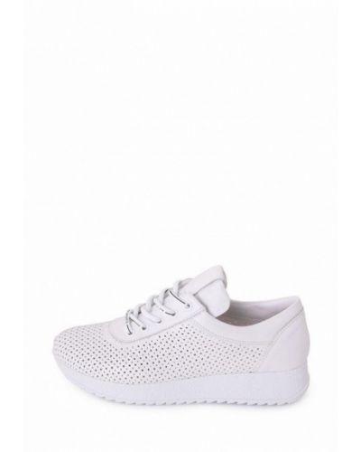 Кожаные кроссовки - белые Tomfrie