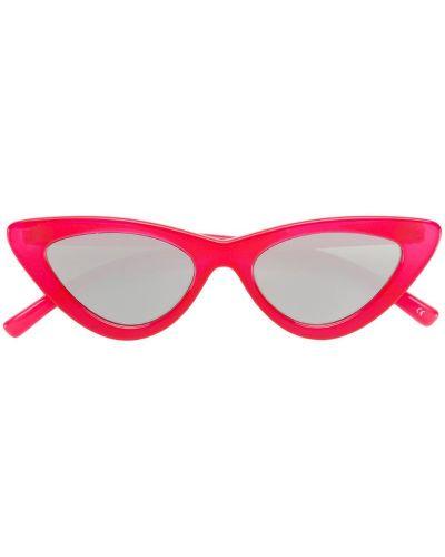 Красные солнцезащитные очки Le Specs