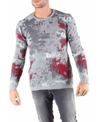 Серый шерстяной свитер Absolut Joy