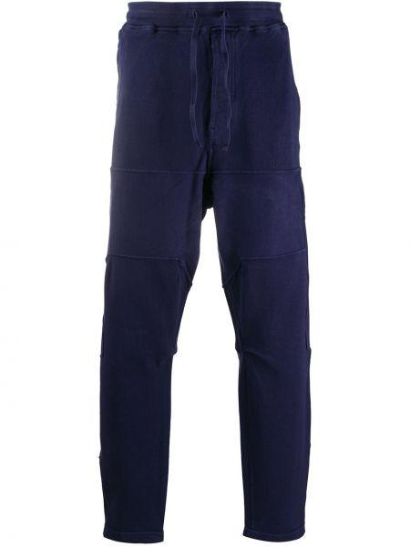 Niebieskie spodnie bawełniane Stone Island Shadow Project