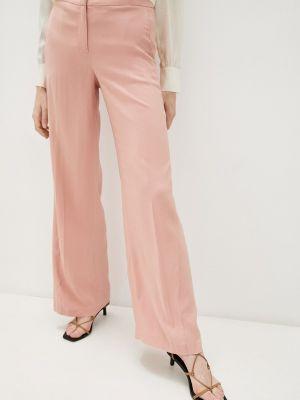 Повседневные розовые брюки Twinset Milano