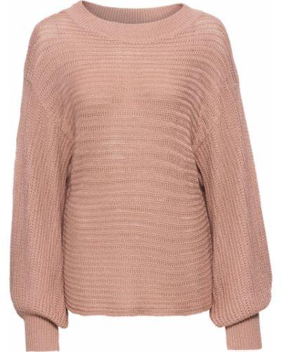 Розовый свитер оверсайз Bonprix