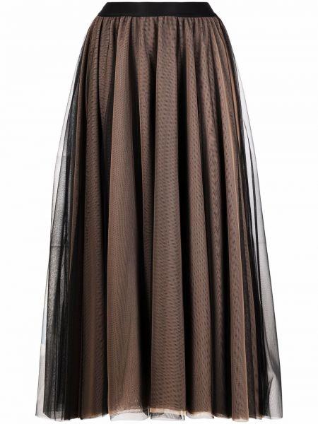 Czarna spódnica tiulowa Blanca Vita
