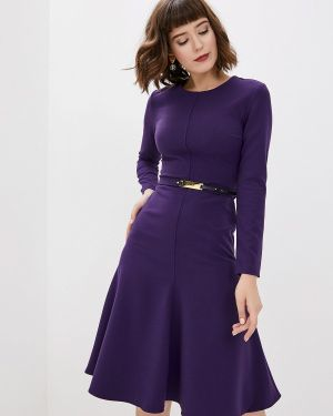 Платье - фиолетовое Clabin