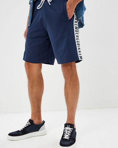 Спортивные шорты турецкий синий Bikkembergs