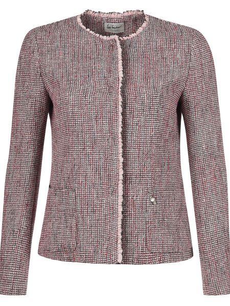 Хлопковый розовый пиджак Luis Trenker