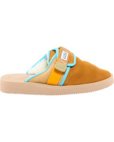 Brązowe sandały Suicoke