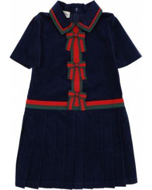 Платье мини классическое с поясом Gucci