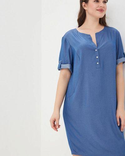 Джинсовое платье весеннее синее Lina